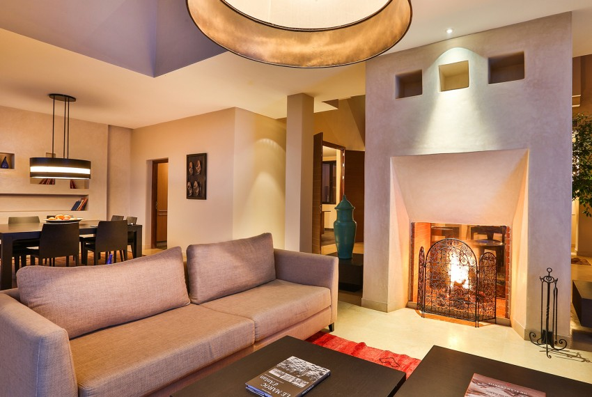 Living Room Villa Deluxe