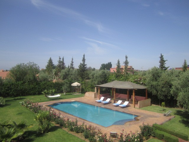 Lettings villas in Marrakech
