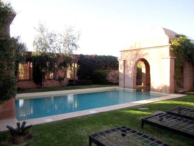 Rent Villa In Marrakech Amelkis Golf