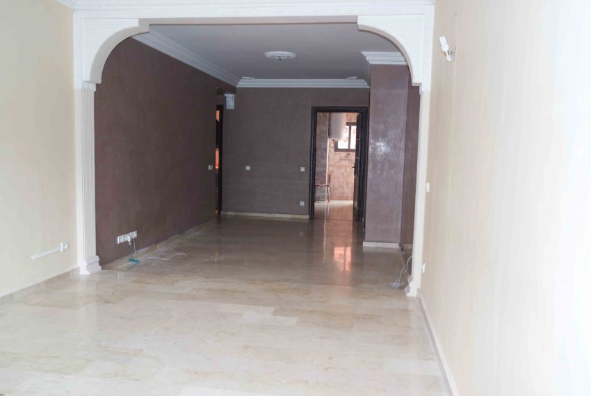3 bedroom apartment for long term rent in Marrakech