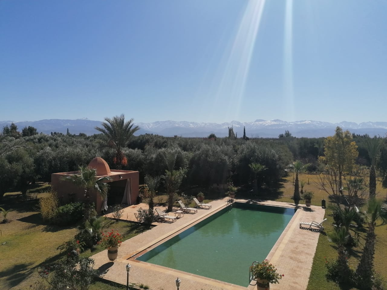 ATLAS MOUNTAINS VILLA FOR FALE MARRAKECH