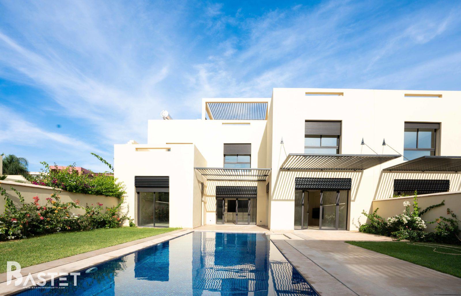 Modern Villa For Rent In Marrakech
